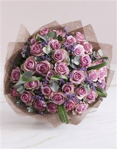 flowers: Lovely Lilac Rose Bouquet!