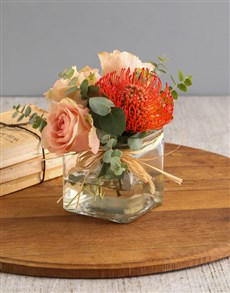 flowers: Delicate Pincushion Display!
