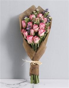 flowers: Pink Rose Paradise Bouquet!