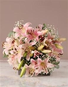 flowers: Stunning Stargazer Lily Bouquet!