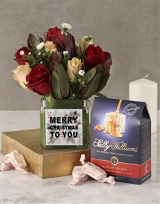 flowers: Dainty Christmas Roses And Sally Williams!