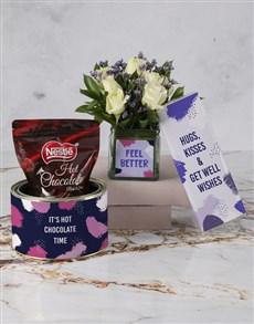 gifts: White Rose Chocolate Hamper!