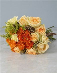 flowers: Sundown Mixed Flowers!