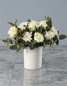 flowers: Pristine And Polished Mixed Arrangement!
