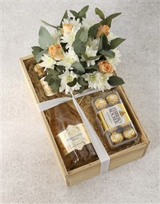 flowers: Bright and Fizzy Rose Crate!