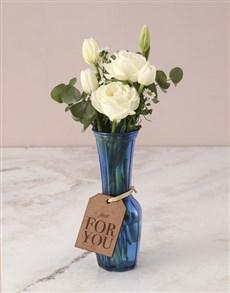 flowers: Wondrous White Tulips in Vase!