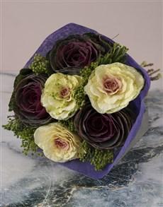 flowers: Mixed Kale Bouquet!