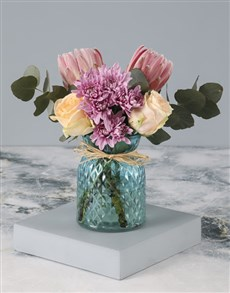 flowers: Everything Is Peachy Protea Arrangement!