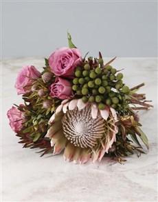 gifts: Bohemian Dream Protea Bouquet!