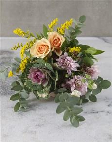 flowers: Candy Floss Colours Cut Kale Bouquet!