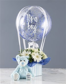 flowers: Bouncing Boy Flowers With Plush!