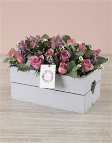 flowers: Just For You Lilac Rose Crate!