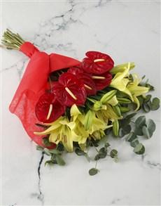 gifts: Amazing Anthurium Bouquet!