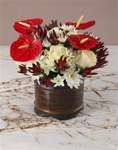 flowers: Whimsical Wonders Anthurium Arrangement!