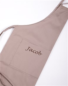 gifts: Personalised Apron Gents!