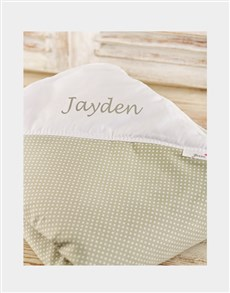 gifts: Personalised Baby Picnic Blanket !