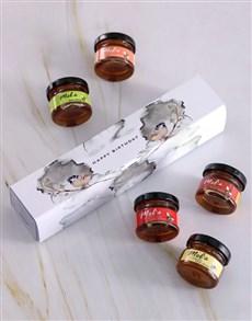gifts: Personalised Happy Birthday Honey Jars Set!