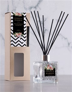 gifts: Personalised Floral Mod Diffuser!