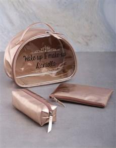 gifts: Personalised Makeup Vanity Set Hamper!