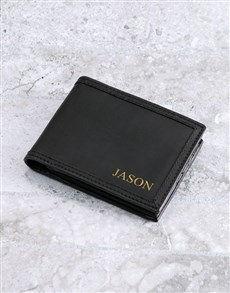 gifts: Personalised Embossed Busby Wallet!