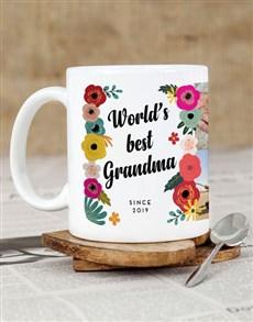 gifts: Personalised Best Floral Mug!