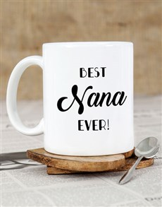 gifts: Personalised Best Nana Ever Mug!