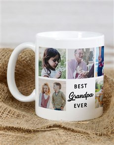 gifts: Personalised Best Grandpa Ever Mug!