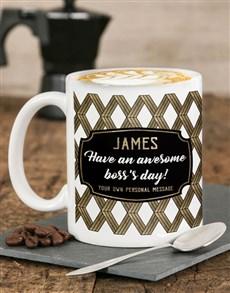 gifts: Personalised Awesome Day Mug!
