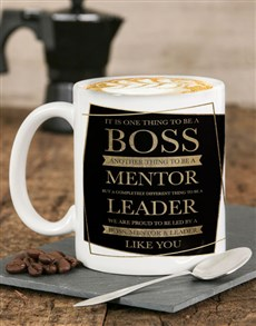 gifts: Personalised Mentor Leader Mug !