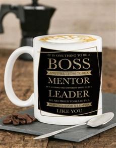 gifts: Personalised Mentor Leader Mug !
