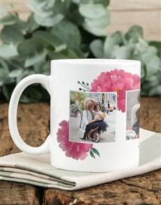 gifts: Personalised Floral Photo Mug!