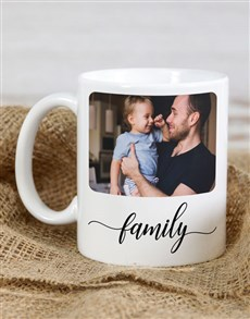 gifts: Personalised Family Photo Mug!