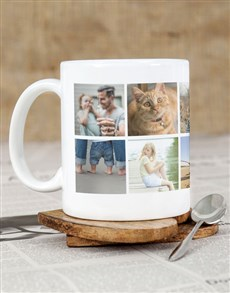 gifts: Personalised Photo Carousel Mug !