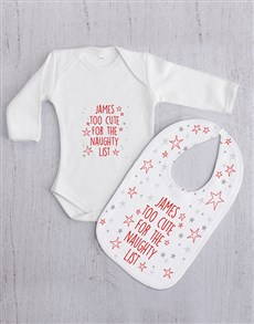 gifts: Personalised Naughty List Gift Set!
