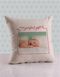 gifts: Personalised Perfect Christmas Scatter Cushion!