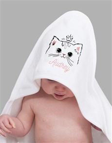 gifts: Personalised Kitten Baby Gift Hamper!