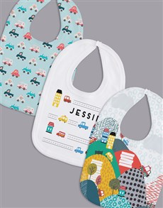gifts: Personalised Set of Car Bibs!