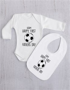 gifts: Personalised First Fathers Day Gift Set!