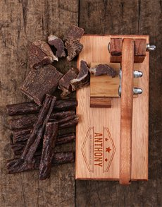 Personalised Biltong Cutter