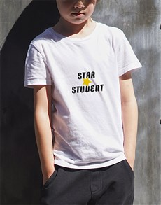 gifts: Personalised Star Student Kids T Shirt!