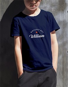 gifts: Personalised Birthday Boy Kids T Shirt!