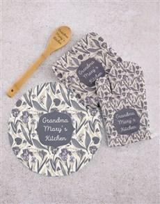 gifts: Personalised Grandma Kitchen Sett!