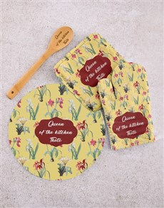 gifts: Personalised Queen Kitchen Set!