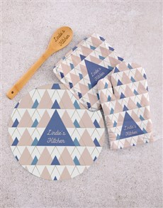 gifts: Personalised Kitchen Set!