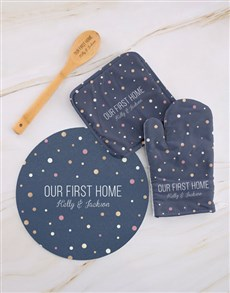 gifts: Personalised First Home Kitchen Set !
