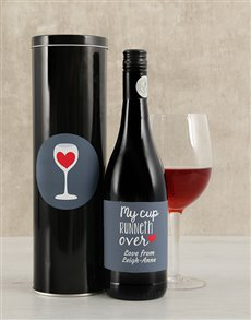 gifts: Personalised My Cup Wine Tin!