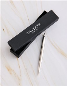 gifts: Personalised Parker Pen Classic Gift Box!