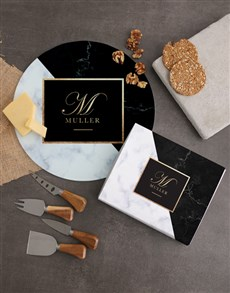 gifts: Personalised Monogram Cheese Knives!