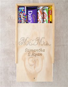 gifts: Mr and Mrs Chocolate Box!