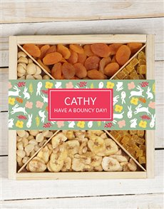 gifts: Personalised Bunny Fruit Tray!